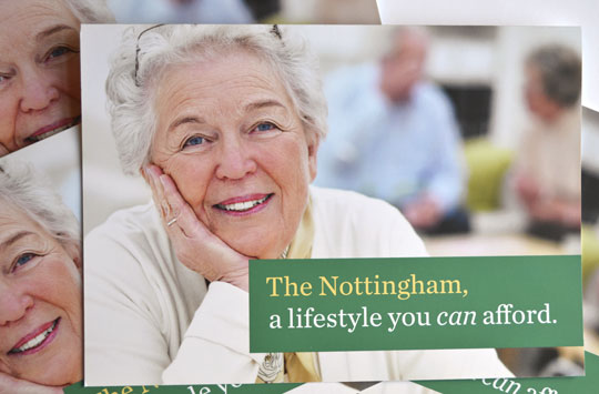 Another direct mailer for The Nottingham