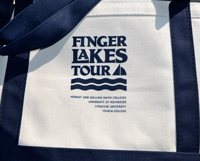 Finger Lakes Tour tote bag
