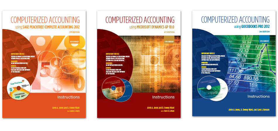 Armond Dalton Computerized Accounting book covers