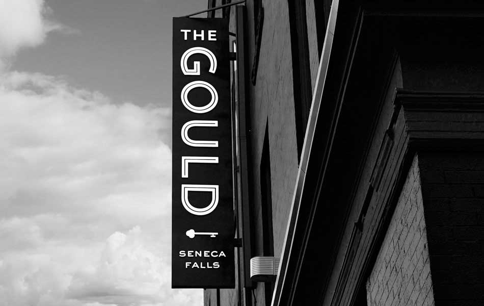 The Gould Hotel signage