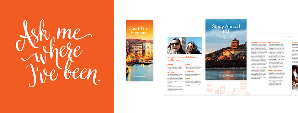 Syracuse Abroad additional package collateral