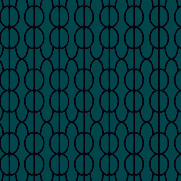 Rockingham Roasters green pattern