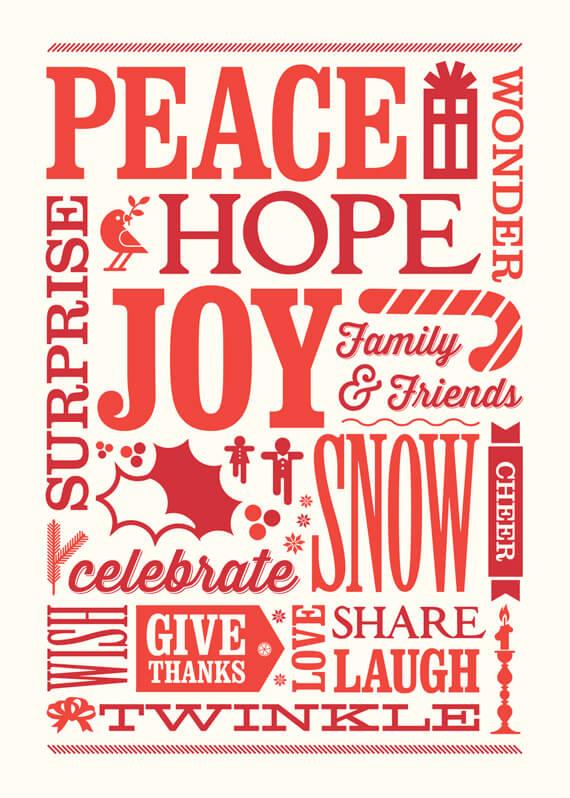 SU Holiday Greeting front design