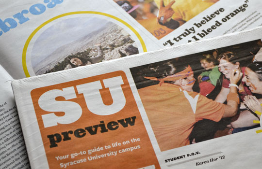 SU Preview, or what I learned from newsprint