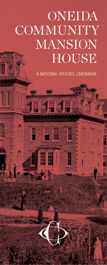 Oneida Community Mansion House brochure cover
