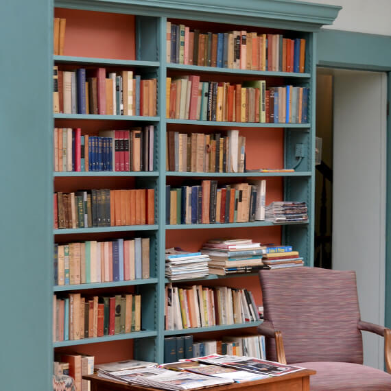 Oneida Community Mansion House library