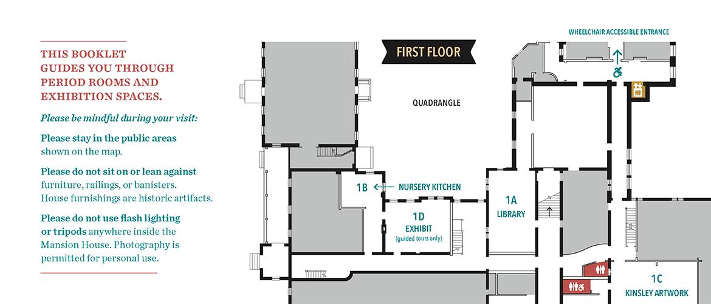 Tour guide map detail